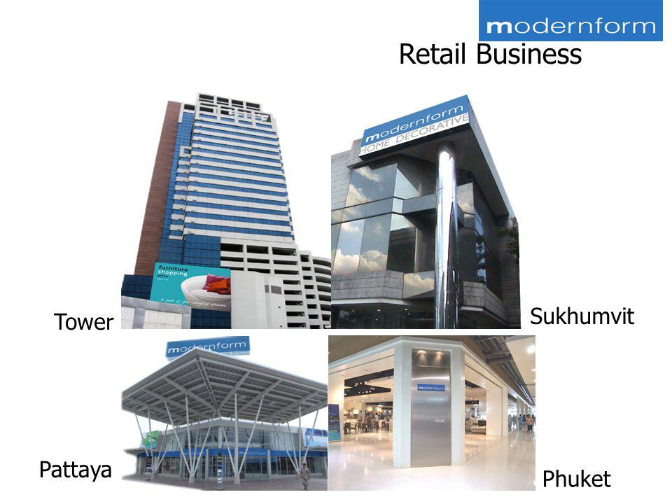 Retail Business Sukhumvit Pattaya Phuket Tower