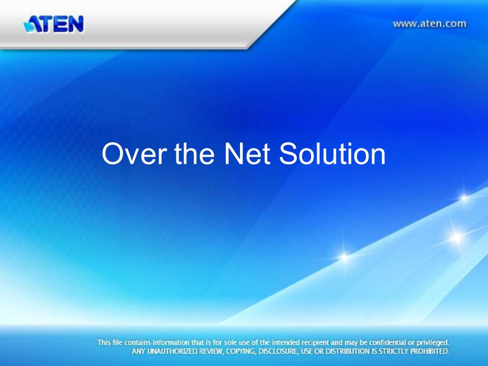 Power Over the Net