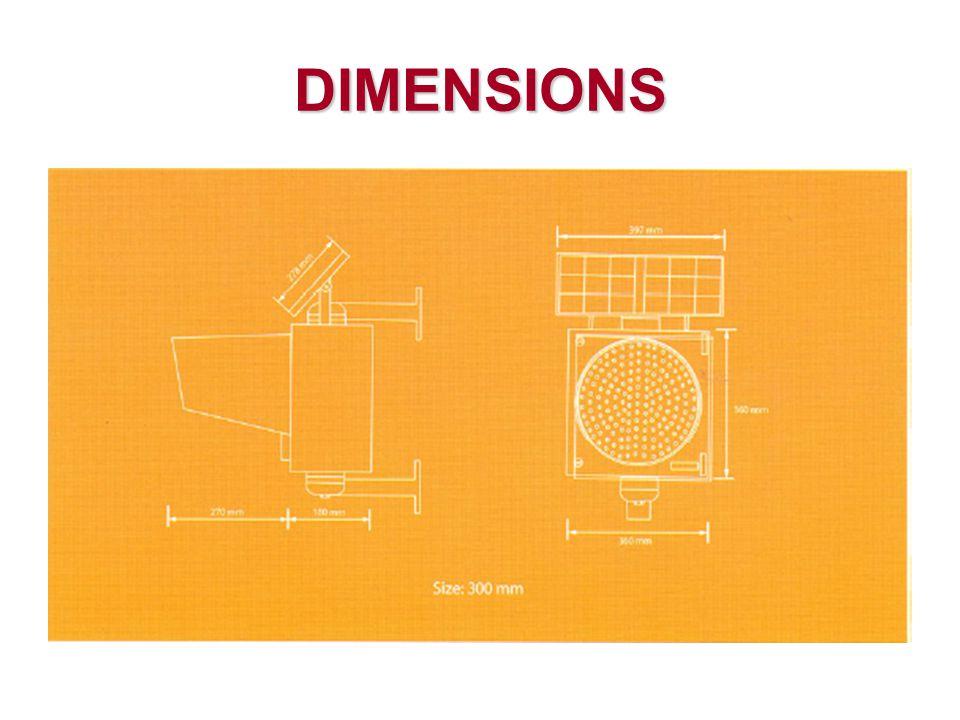 ข้อกำหนดสัญญาณไฟกระพริบ ที่ต้องพิจาณาเพิ่มเติม  โครงสร้าง  เสาเหล็ก Ø 1 สูง 3 เมตร ความหนา 4 มม.