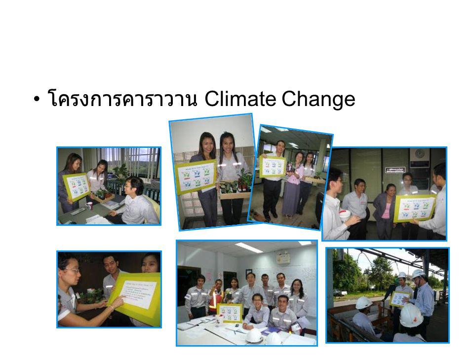 • โครงการคาราวาน Climate Change