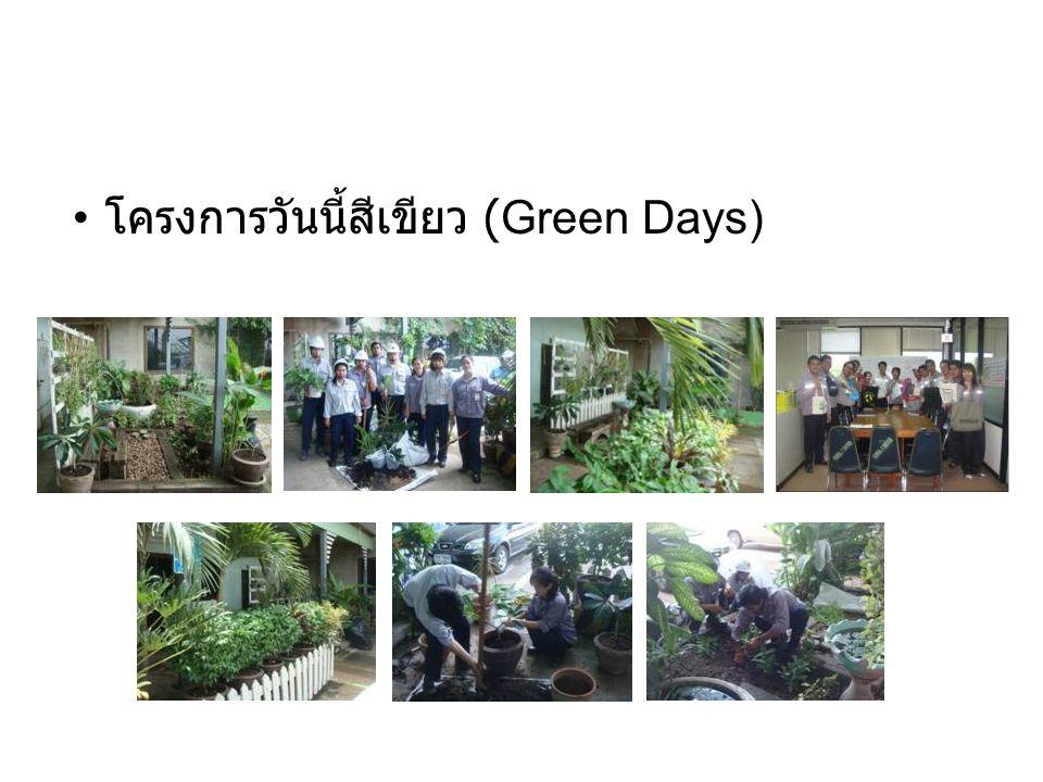 • โครงการวันนี้สีเขียว (Green Days)
