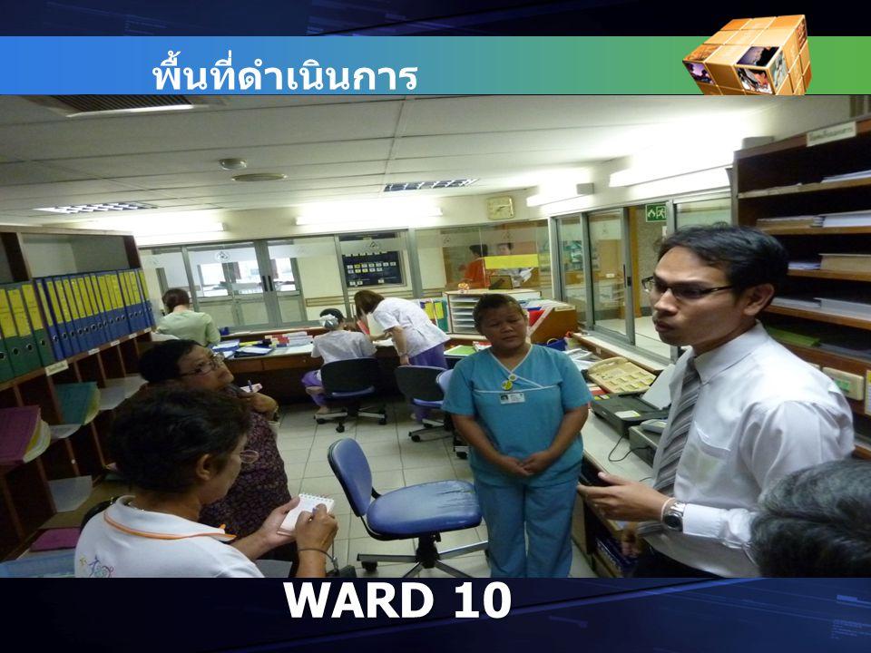 WARD 10 พื้นที่ดำเนินการ