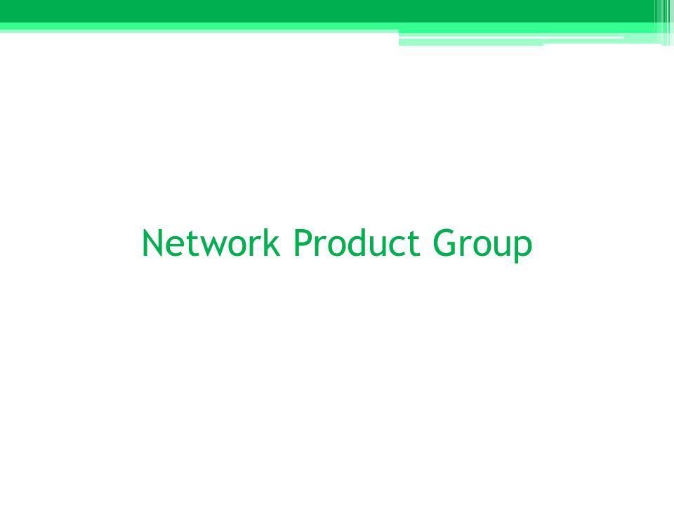 Network Product Group