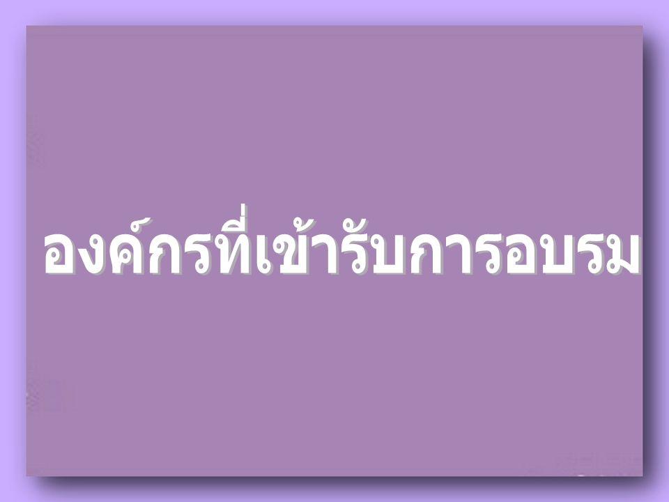 สถาบันพัฒนาบุคลิกภาพบาบิ ซอน ( ประเทศไทย ), สายการบิน แอร์เอเชีย, โรงเรียนเสนารักษ์ ทหารบก, วิทยาลัยพยาบาล โรงพยาบาล พระมงกุฎเกล้าฯ, โรงเรียนสอนการพูดจอมพล, บริษัทซินเนอร์จี้ เวิลด์ไวด์ ประเทศไทย จำกัด, บริษัท เอ็น โอ พี ( อินเตอร์แนชั่นแนล ) จำกัด, บริษัท เค พี เอ็ม จี จำกัด, บริษัท โอเชี่ยนเวลธ์ จำกัด, บริษัท พิซซ่า ทูเดย์ จำกัด, บริษัท สปอร์ตธอน จำกัด, บริษัท รถไฟฟ้ากรุงเทพ จำกัด ( มหาชน )