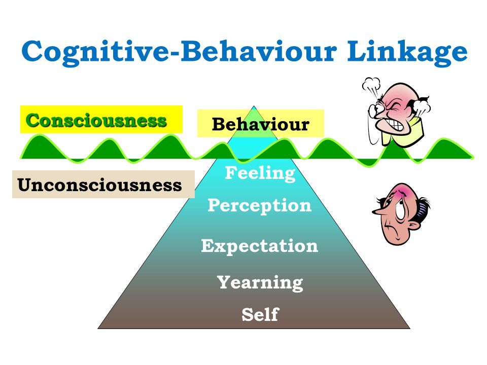 Consciousness Unconsciousness Behaviour Feeling Perception Expectation Yearning Self Cognitive-Behaviour Linkage