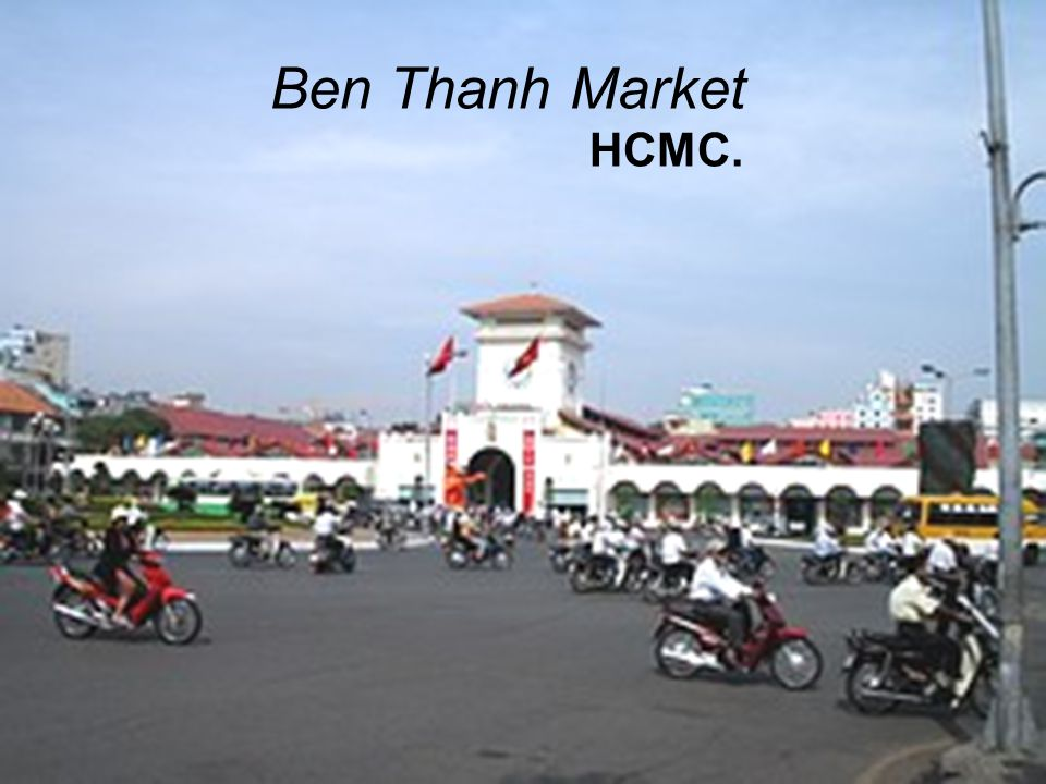 Ben Thanh Market HCMC.