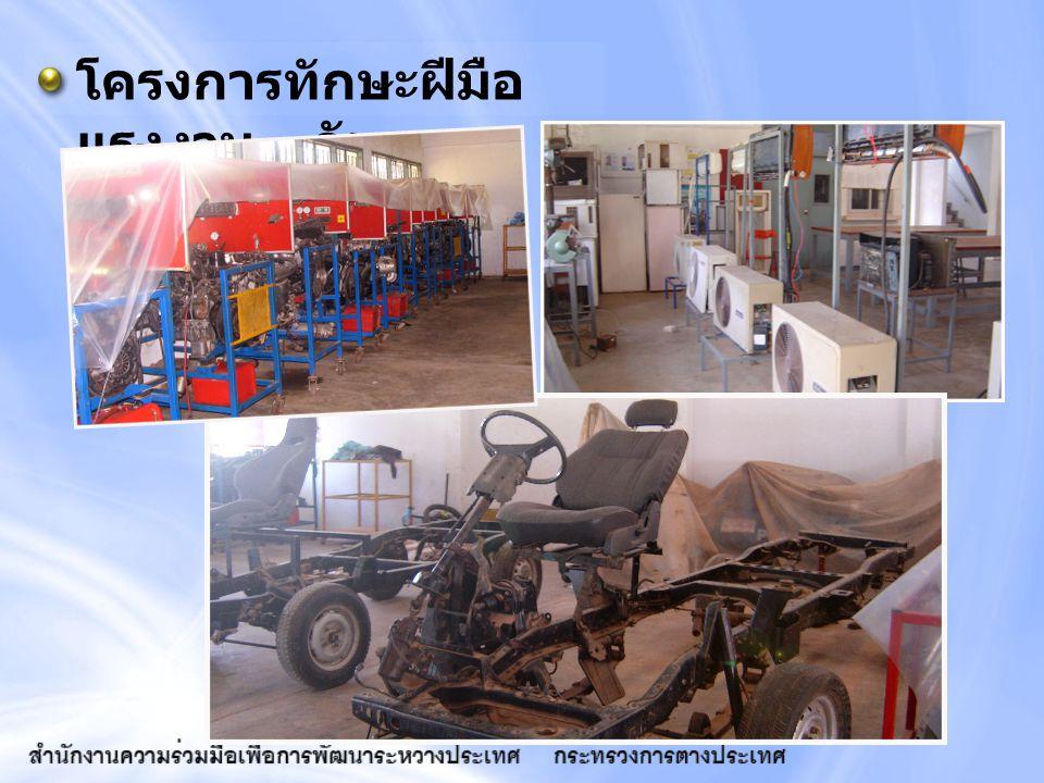 โครงการทักษะฝีมือ แรงงาน - กัมพูชา