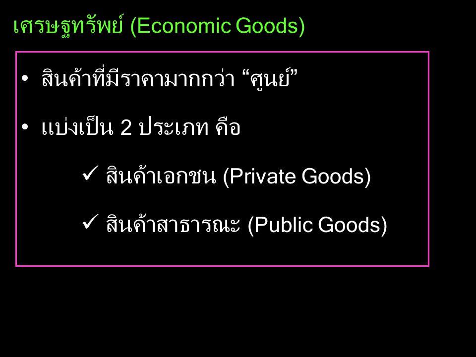 ปัญหาพื้นฐานทางเศรษฐกิจ •ผลิตอะไร (What to produce ?) •ผลิตอย่างไร (How to produce ?) •ผลิตเพื่อใคร (For whom to produce ?)