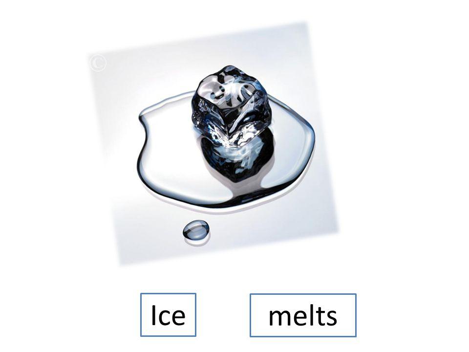 Ice cubesmelt
