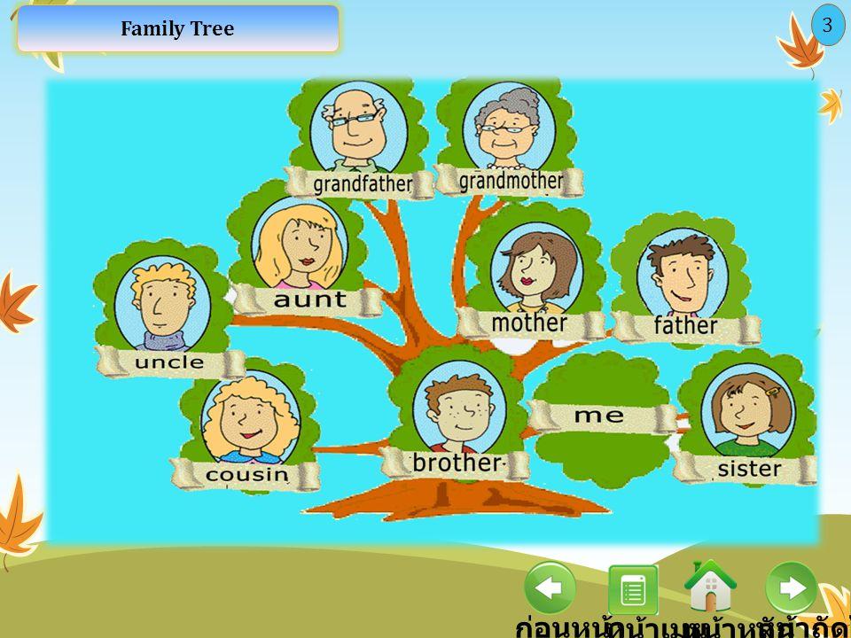 ก่อนหน้า หน้าหลัก หน้าถัดไป หน้าเมนู 3 Family Tree