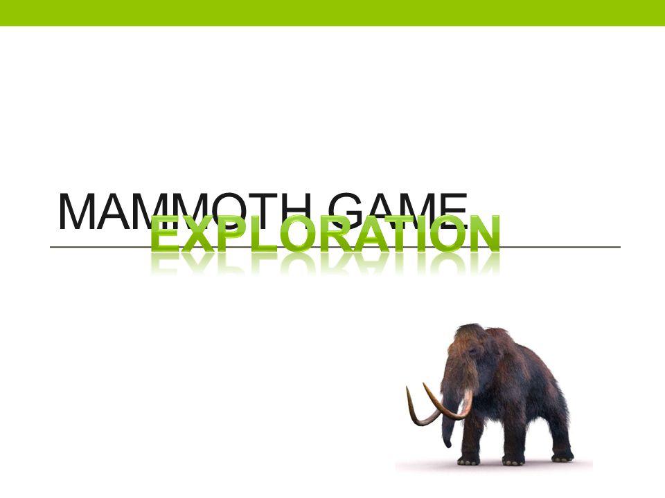 MAMMOTH GAME