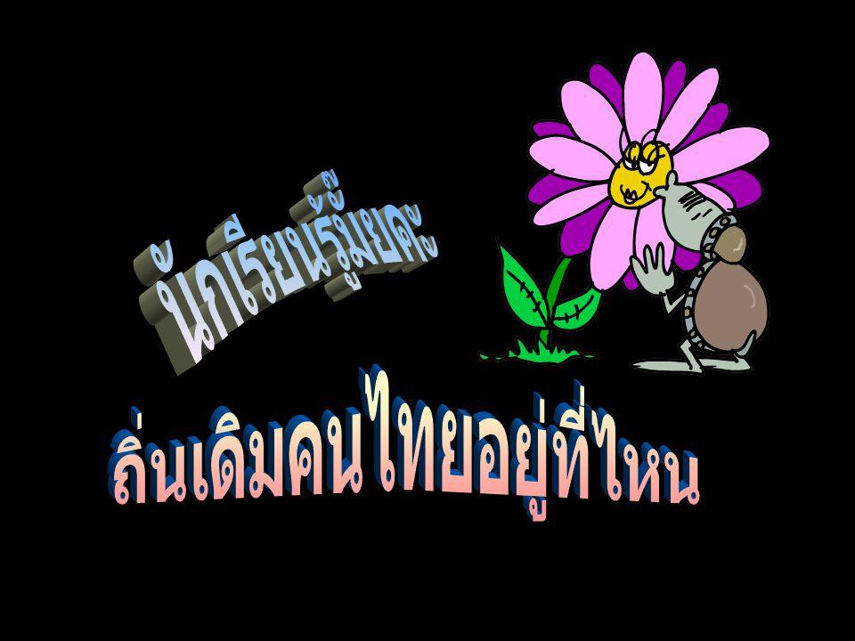 เชื่อว่าถิ่นกำเนิดของคนไทย อยู่บริเวณเทือกเขาอัลไต ในประเทศจีน แนวคิดที่ 1