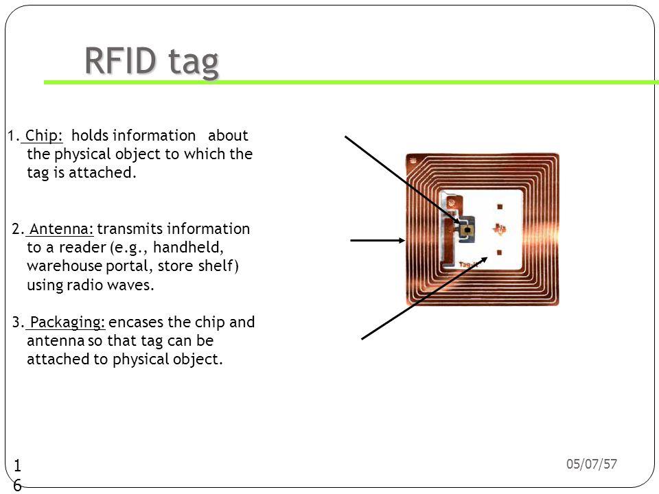 05/07/57 15 รู้จักกับ RFID tag