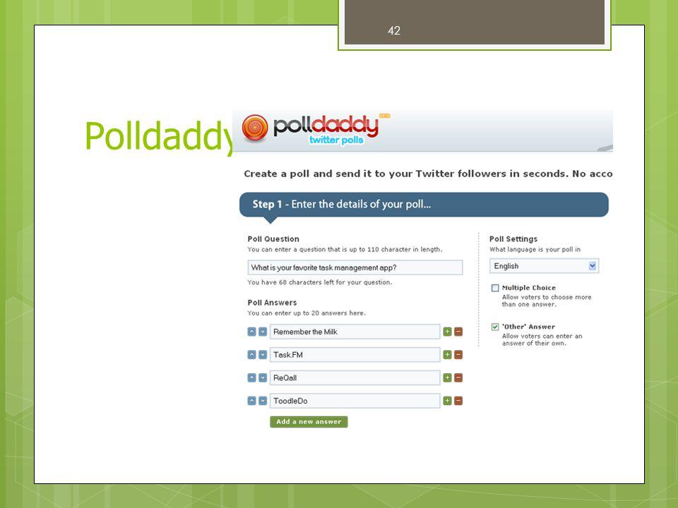 42 Polldaddy