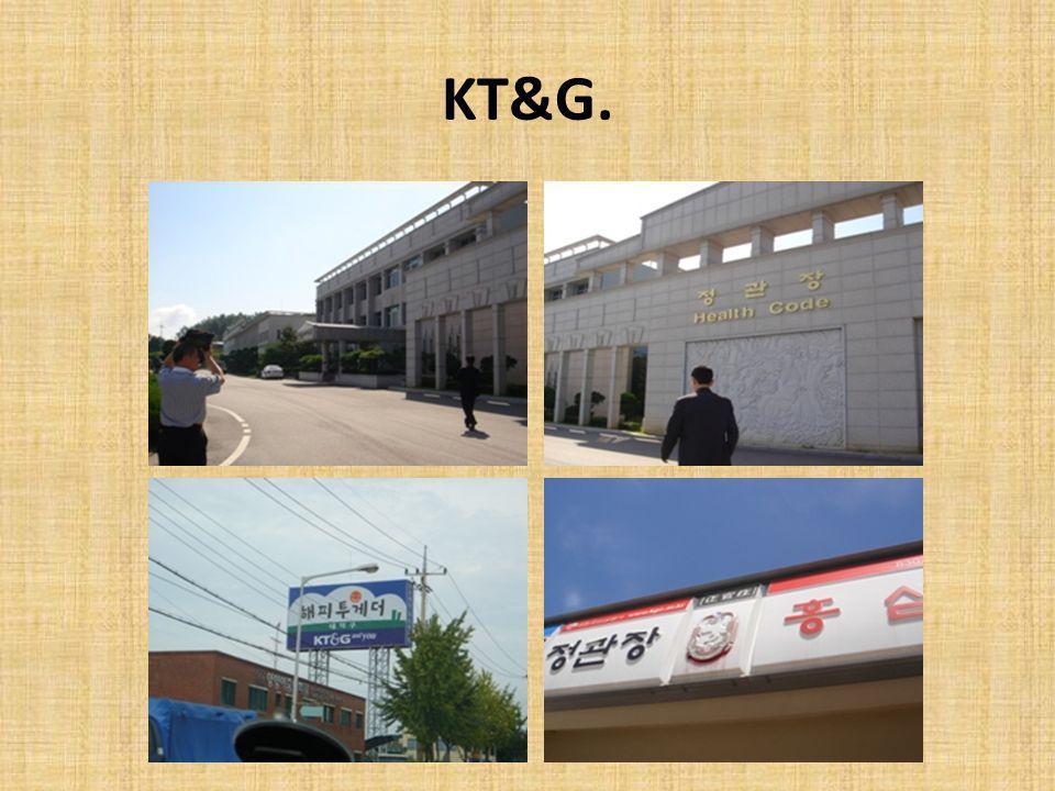 KT&G.