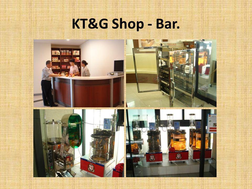 KT&G Shop - Bar.