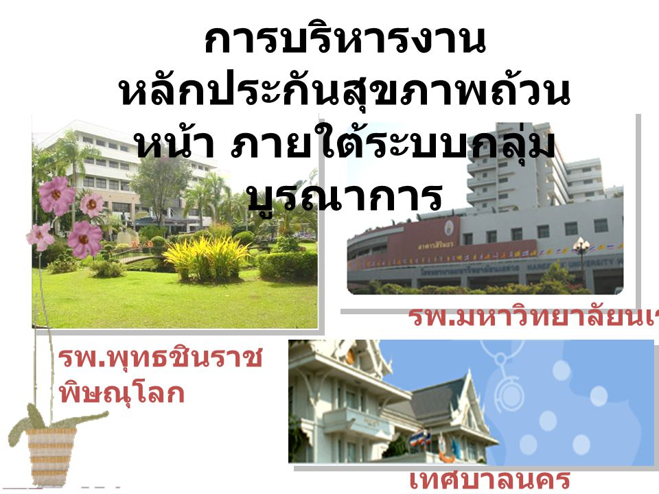 Health care center รพพ Health care center เทศบาล Health care center มน.