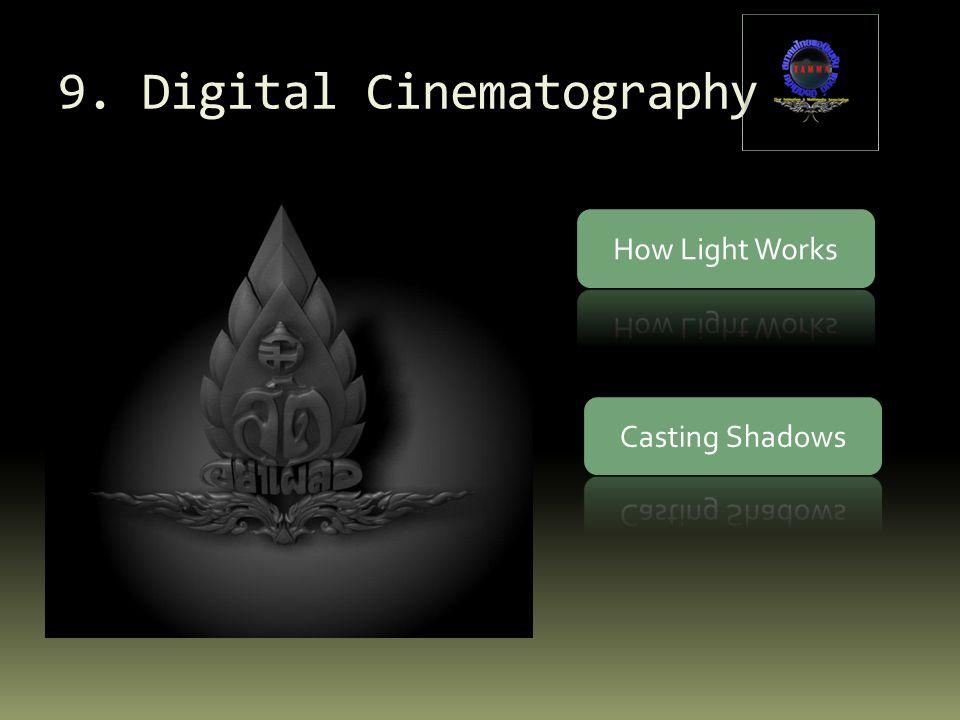 9. Digital Cinematography