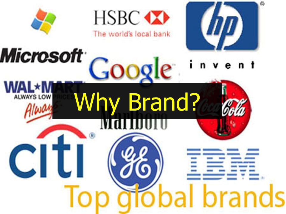 Why Brand?
