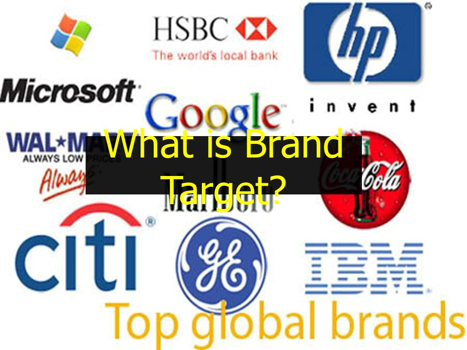What is Brand Target?