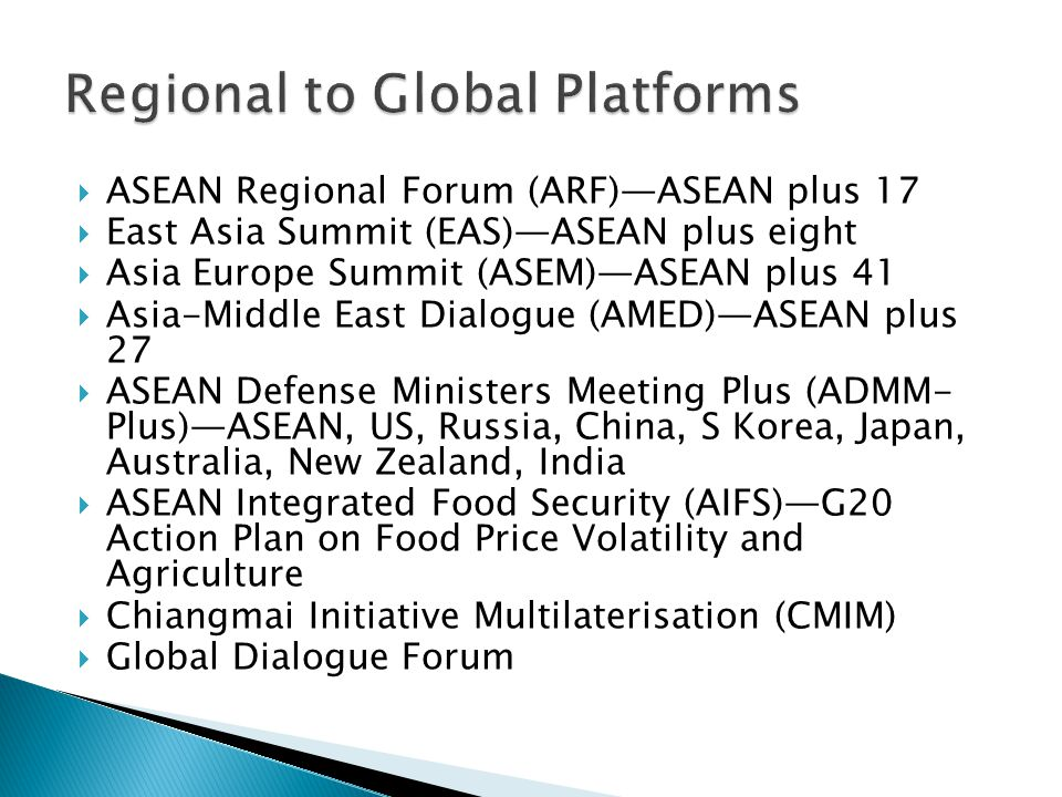  667 action lines for ASEAN Community (AC)  234 action lines for ASEAN Economic Community (AEC)  193 action lines for ASEAN Political and Security
