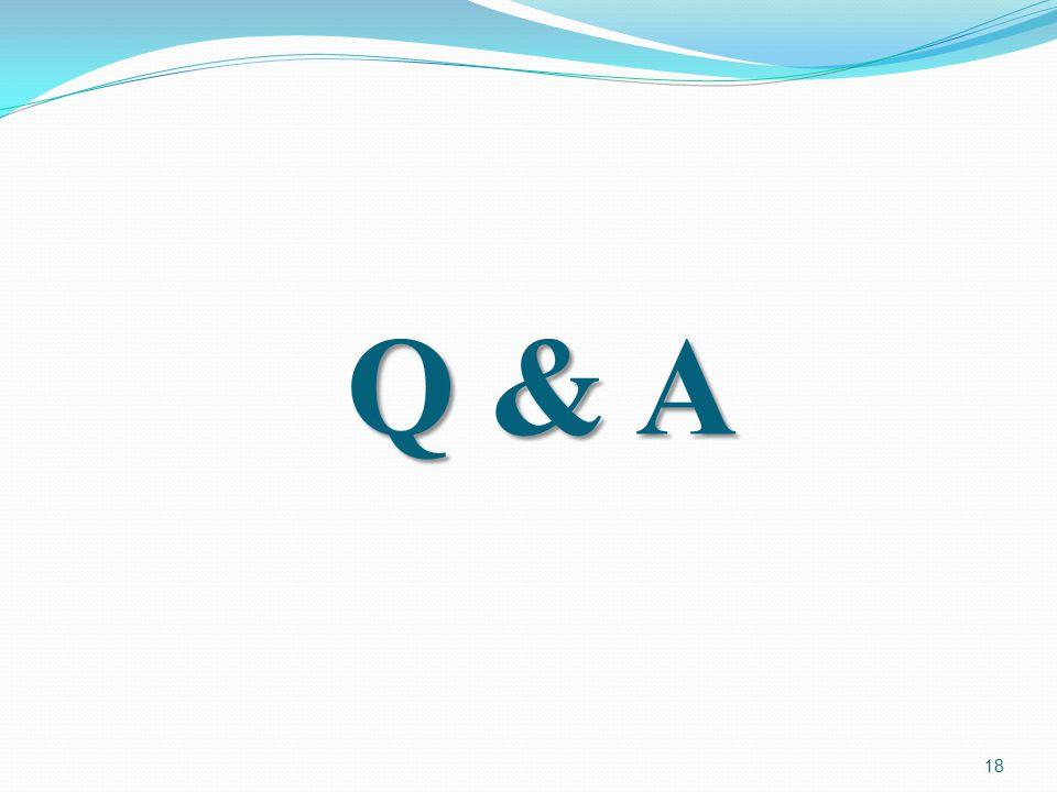 Q & A 18
