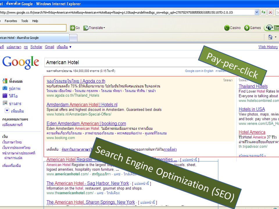 Pay-per-click Search Engine Optimization (SEO)