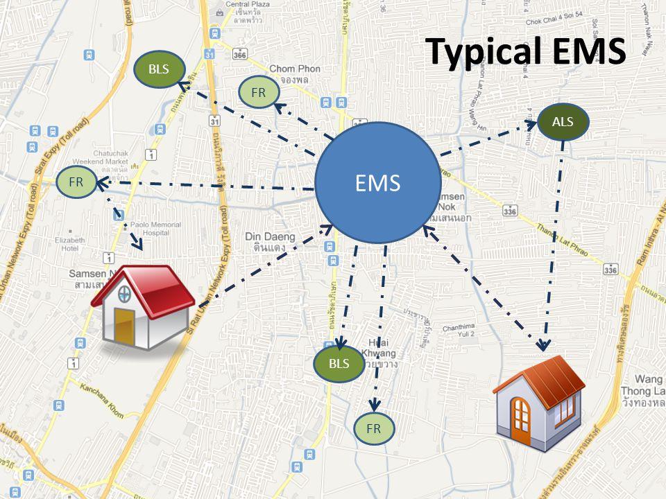 Typical EMS EMS FR BLS ALS