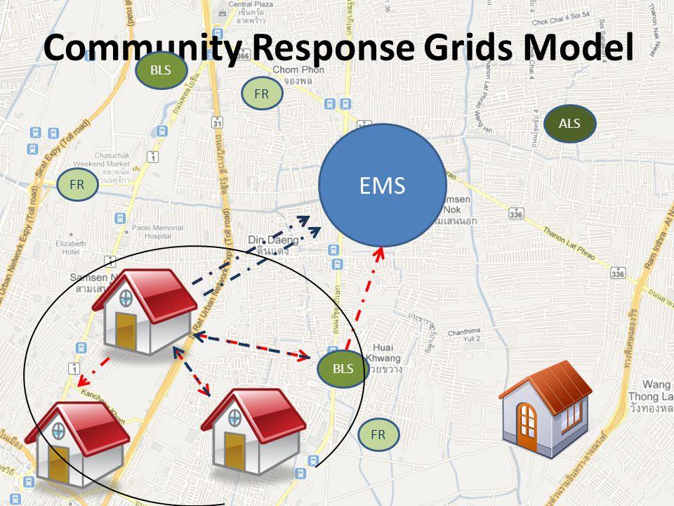 Community Response Grids Model EMS FR BLS ALS