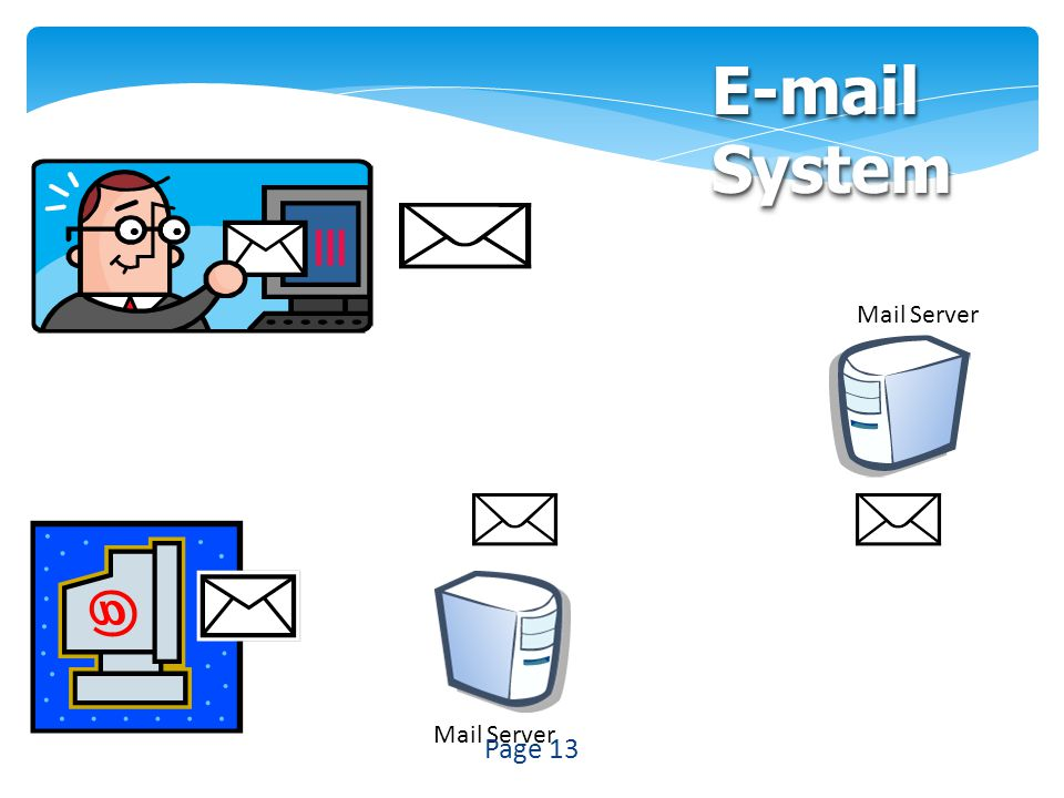 Mail Server E-mail System Page 13