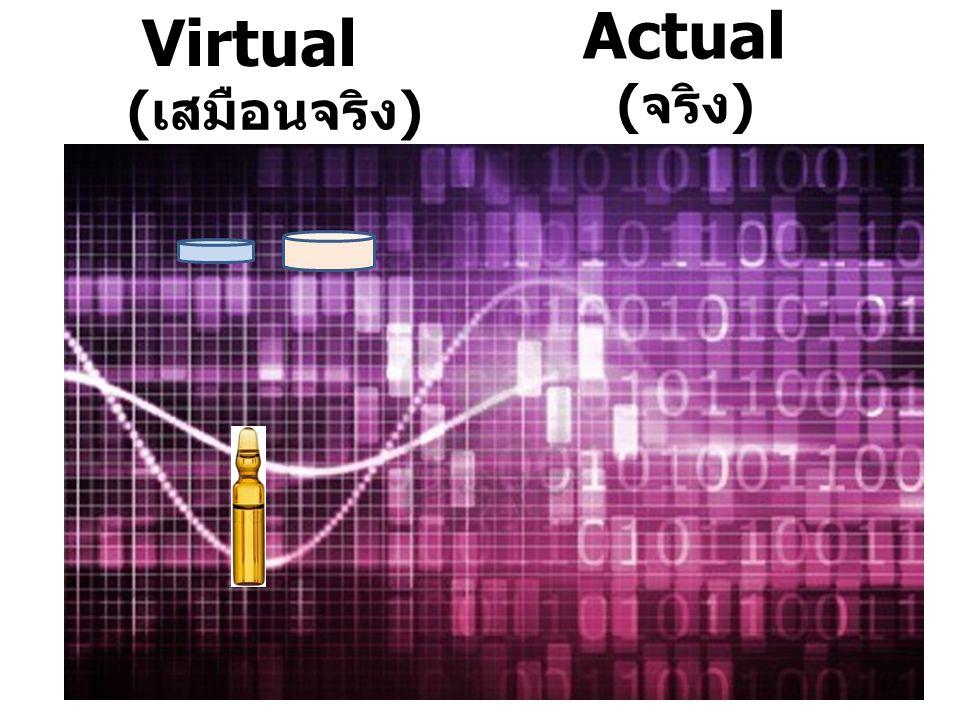 Virtual Actual (เสมือนจริง) (จริง)