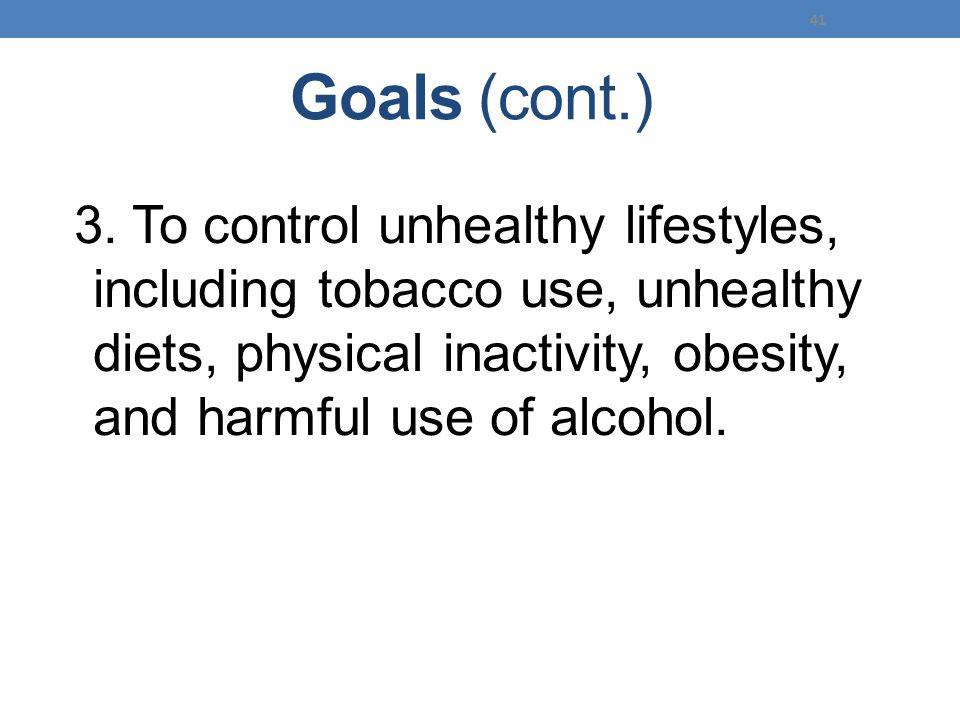 Goals (cont.) 3.