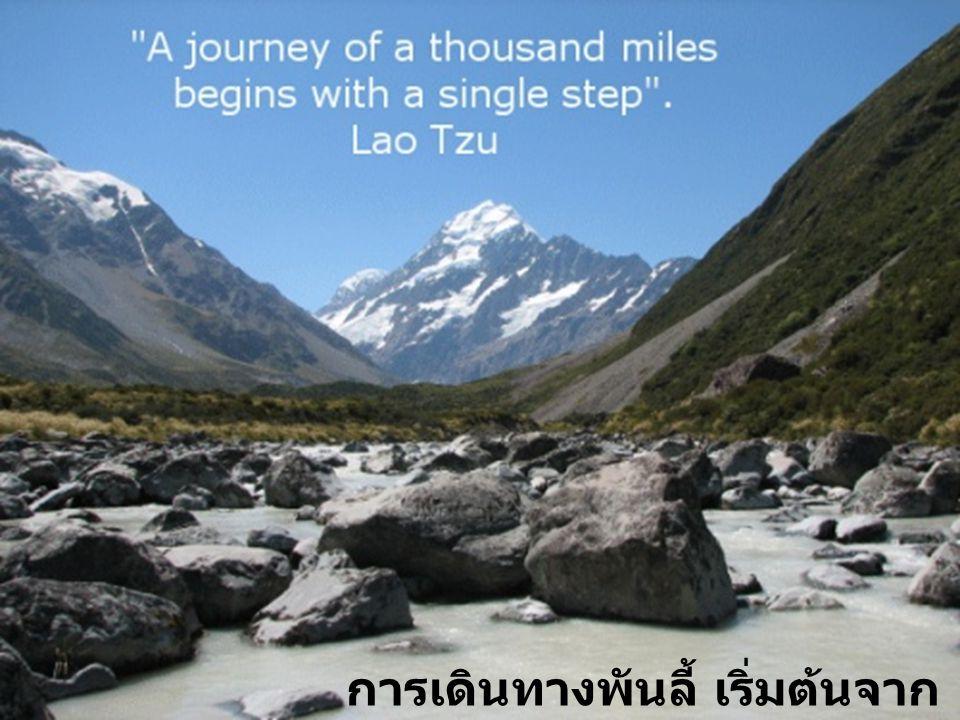 จงเดินก้าวแรกในความเชื่อ คุณไม่ต้องมองเห็นบันไดทั้งหมด แค่เดินก้าวแรกเท่านั้น