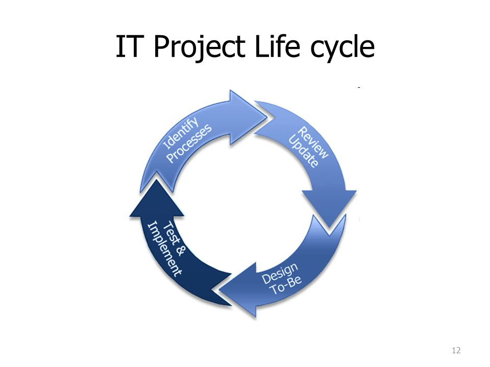 IT Project Life cycle 12