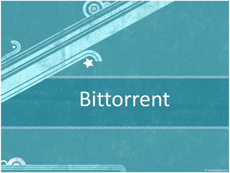 เนื้อหา BitTorrent (BT) คือ อะไร ประวัติและความเป็นมาของ เทคโนโลยี BitTorrent Bittorent ในเมืองไทย BitTorrent ต่างจาก P2P แบบอื่น อย่างไร องค์ประกอบของ Bittorrent หลักการทำงานของโปรแกรม Bittorrent ตัวอย่าง การใช้งาน BitTorrent