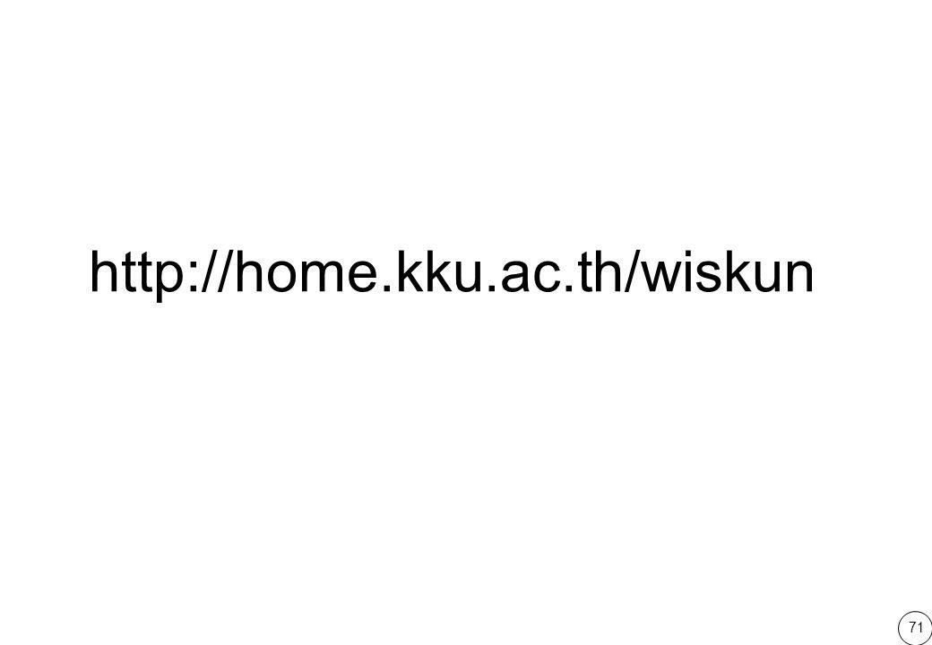 71 http://home.kku.ac.th/wiskun