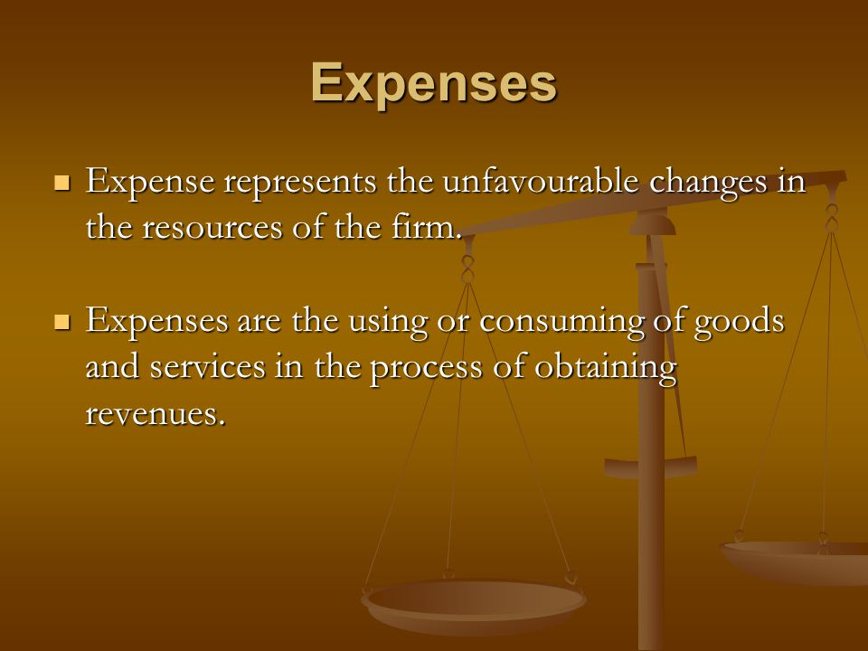Expense Recognition Indirect or Period Matching: Indirect or Period Matching: If there is no measurable association with future revenue or no measurable benefit to future periods, there is no justification for carrying the expense forward to later period.