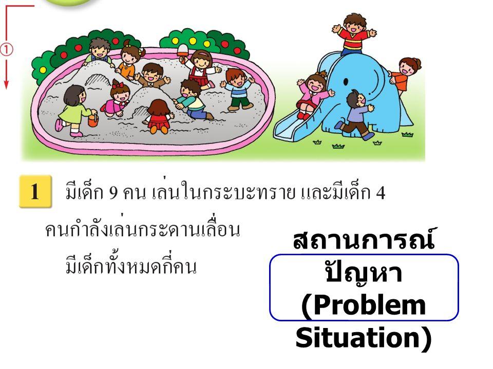 สถานการณ์ ปัญหา (Problem Situation)