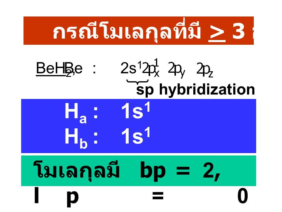 C 2 H 6 sp 3 H 3 C- CH 3 C 2 H 4 sp 2 H 2 C=CH 2 C 2 H 2 spHC บ CH C 6 H 6 sp 2 สรุป p.15 ใน sheet ( โมเลกุลใด มีขั้วไม่มีขั้ว ) Hydrocarbon : p 16-18 ใน sheet