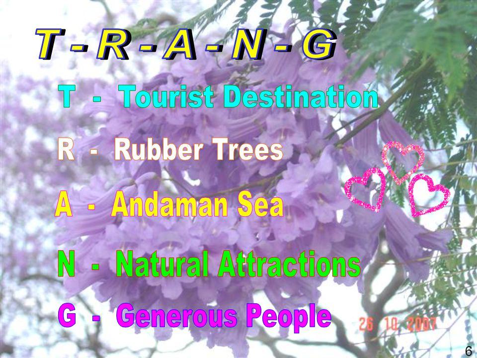 7 กระชับแน่นกลุ่มอันดามัน รักษาท่องเที่ยวเชิงอนุรักษ์ เที่ยวเชิงประณีต.....ชมน้ำตก โบราณสถาน อาหาร ย่านการค้า.....ชิม ชม ช็อป