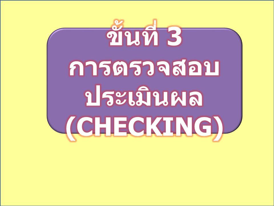 ขั้นที่ 4 การปรับปรุง พัฒนา (A) ขั้นที่ 4 การปรับปรุง พัฒนา (A)