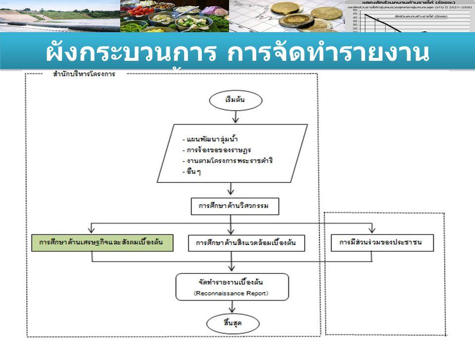 ผังกระบวนการ การจัดทำรายงาน เบื้องต้น (RR)