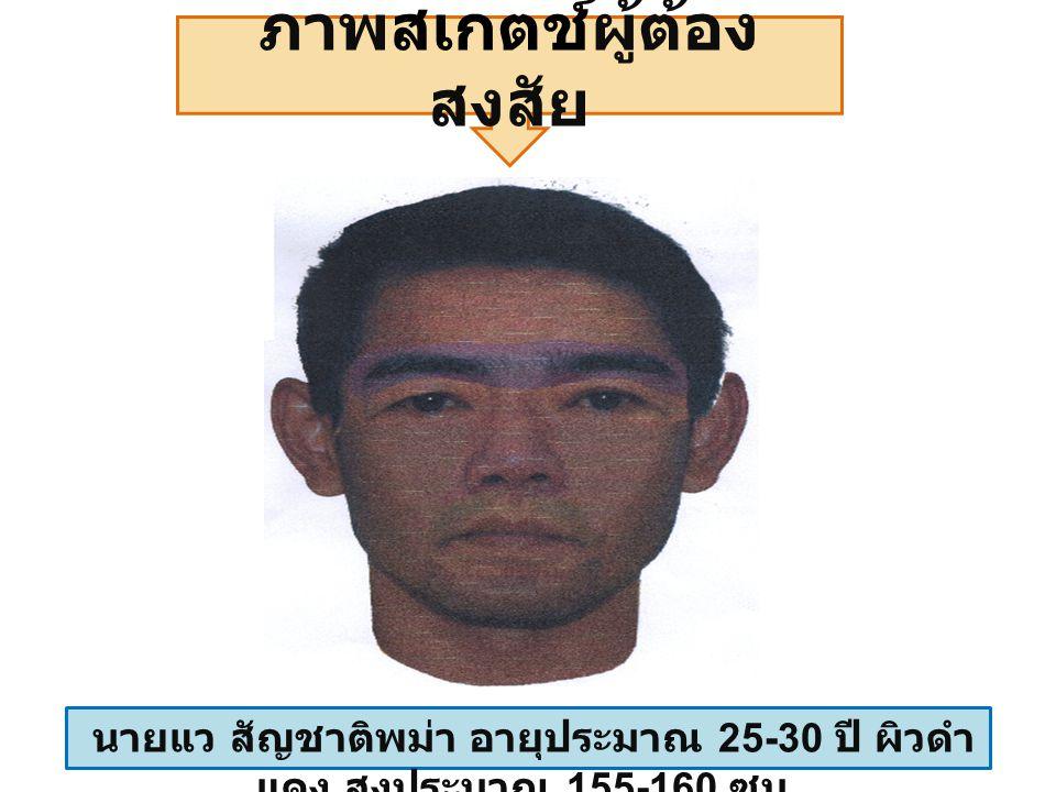 กระท่อมที่พบศพนายโย ศพนายโย สัญชาติ พม่า