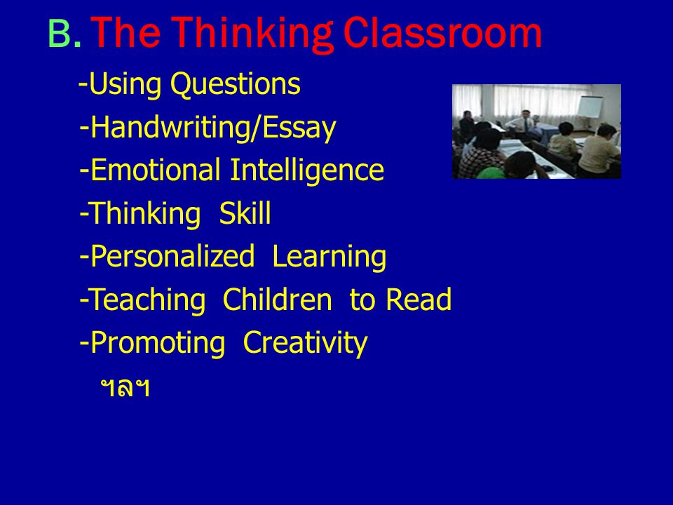A. The Healthy Classroom -The Teaching Voice -Truancy -Nits -Junk Food -Homophobia -Self Harm -Teenage Suicide ฯลฯ