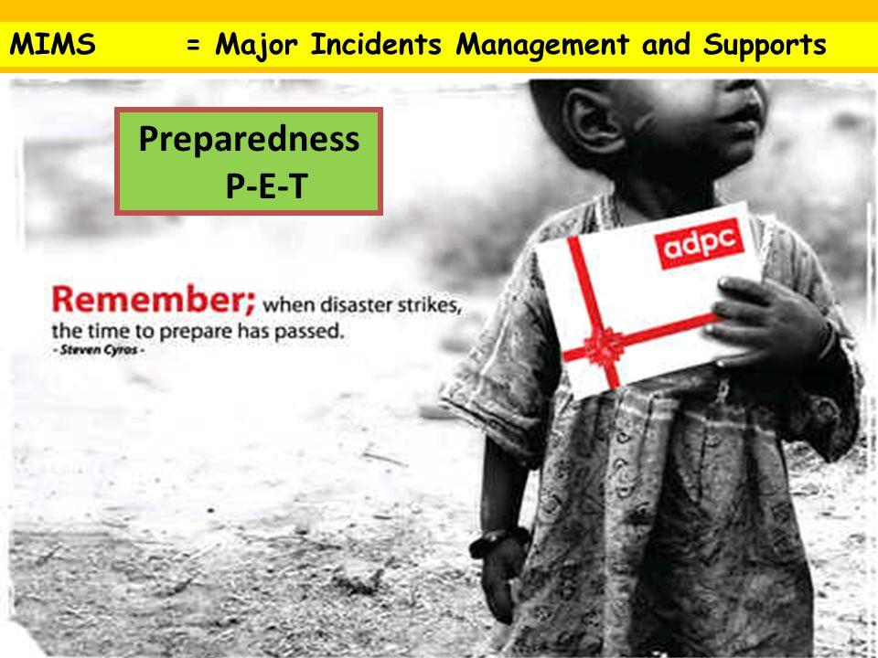 PRINCIPLES PRINCIPLES ถ้าเตรียมตัวดี ตอนเผชิญ เหตุจริงจะไม่มั่ว Preparedness P-E-T Response Recovery Reconstruction Plan EquipmentTraining C-S-C-A-T-T-T Protection Identification Medical Communication Command Control Capacity Education Exercise 1 Command and Control 2 Safety 3 Communication 4 Assessment 5 Triage 6 Treatment 7 Transport METHANE