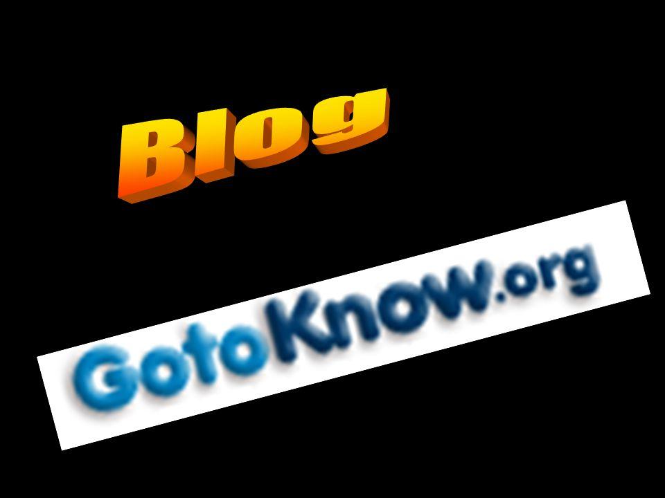 GotoKnow.org = ศูนย์รวมไดอารี่ blog = ไดอารี่ 1 เล่มของ 1 คน แต่ละคนสามารถมีหลาย blog (ไดอารี่หลายเล่ม) 1 บันทึก คือ 1 เรื่องเล่าในแต่ละ blog (ในไดอารี่แต่ละเล่ม) CoP = ชุมชนแนวปฏิบัติ, คนคอเดียวกัน 1 blog สามารถสมัครได้หลายชุมชน