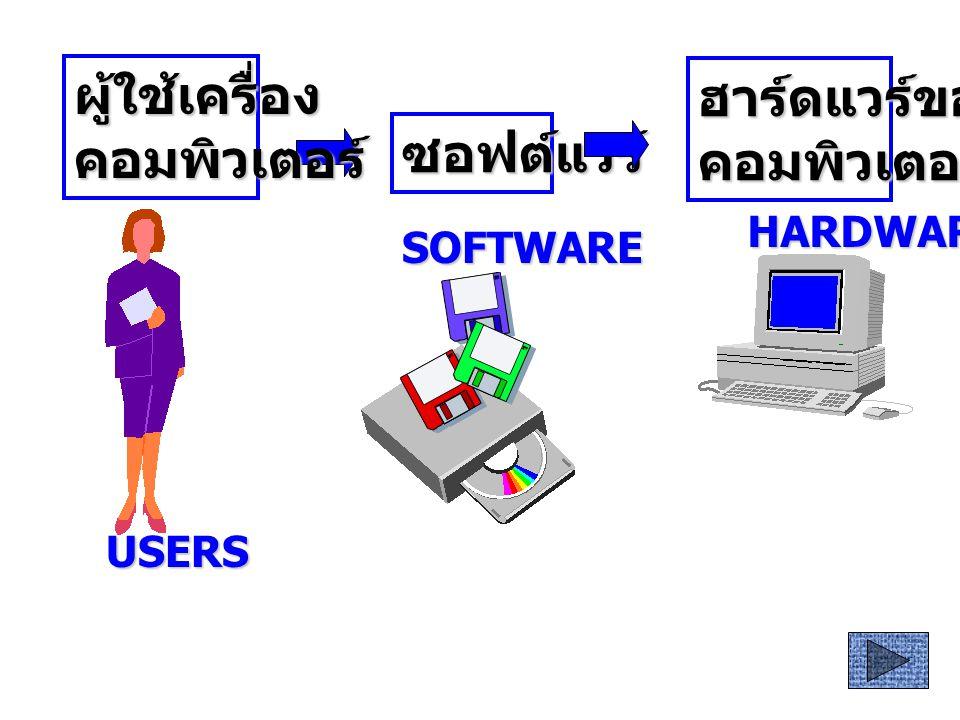 ความหมายและ ประเภท ของโปรแกรม คอมพิวเตอร์