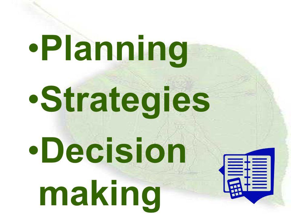 การวางแผน Planing