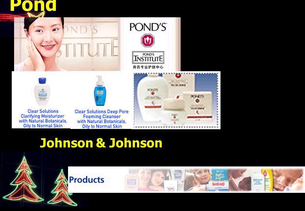 Pond Johnson & Johnson
