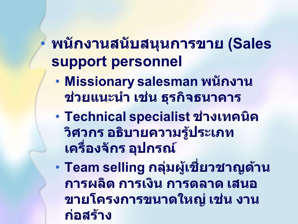 การเตรียมตัวก่อน การขาย 1. ตลาดหรือ ลูกค้า 2. ผลิตภัณฑ์ 3. บริษัท 4. การแข่งขัน 5. เทคนิคการ ขาย